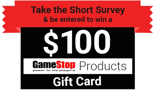 Tellgamestop Survey Rewards