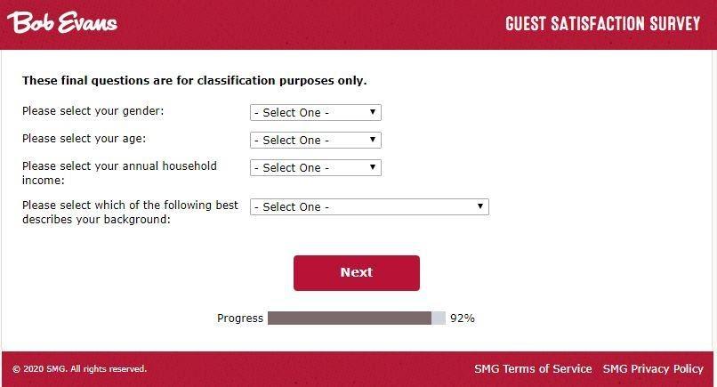 Bobevanslistens smg survey Guide