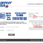 Tellmurphyusa.com - Official Tell Murphy USA Survey - Win $100 Free Gas