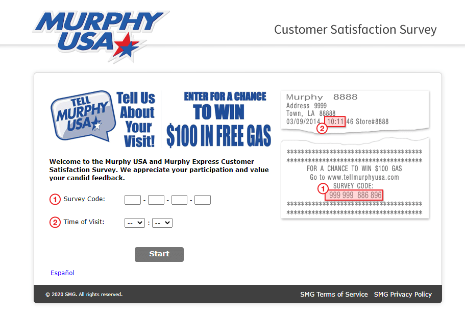 Tell Murphy USA Survey