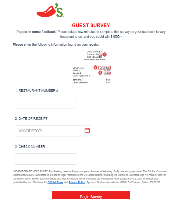 chilis-survey.com