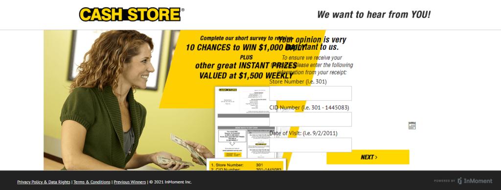 cashstore-survey.com