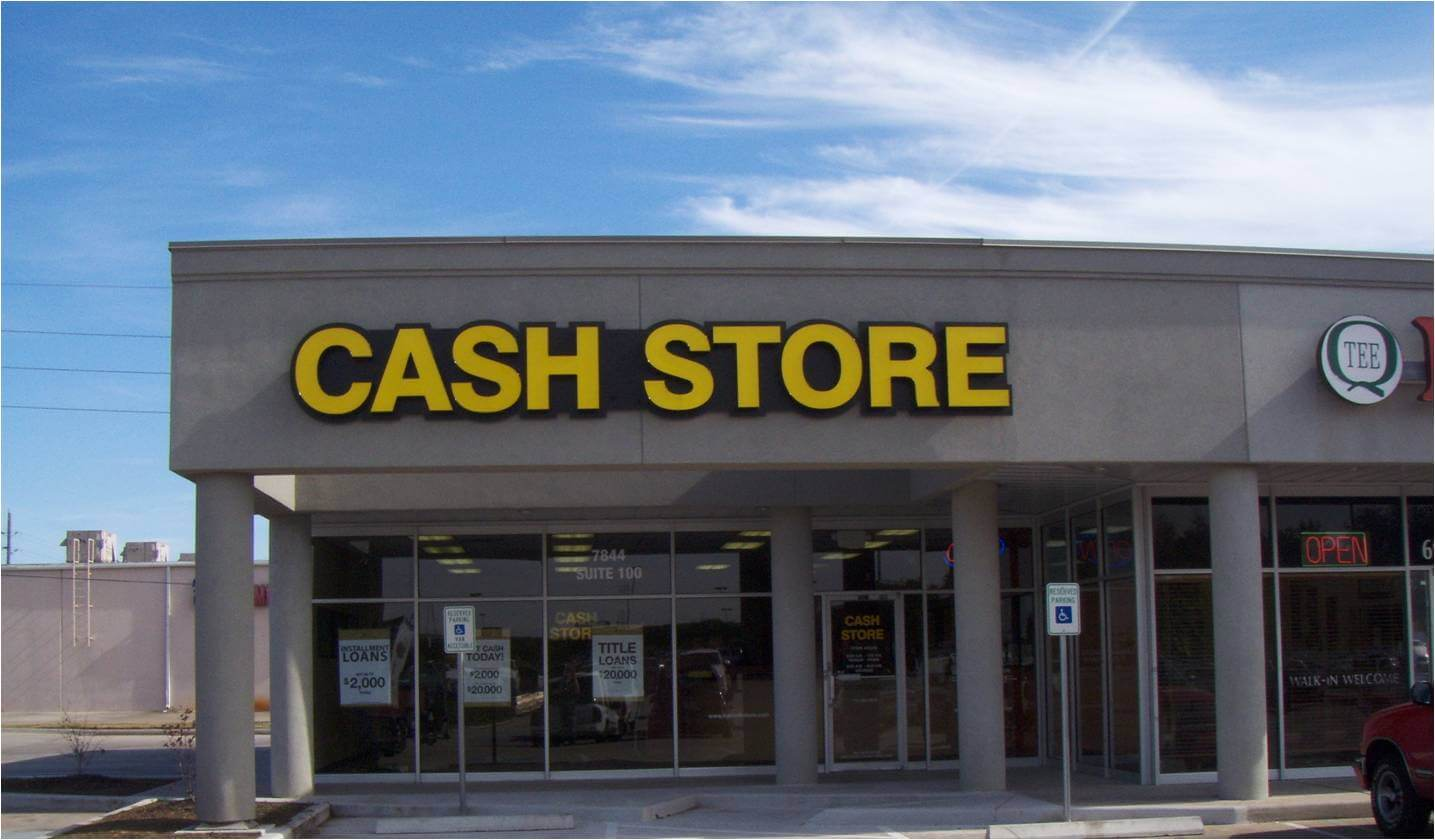 Cash Store Survey