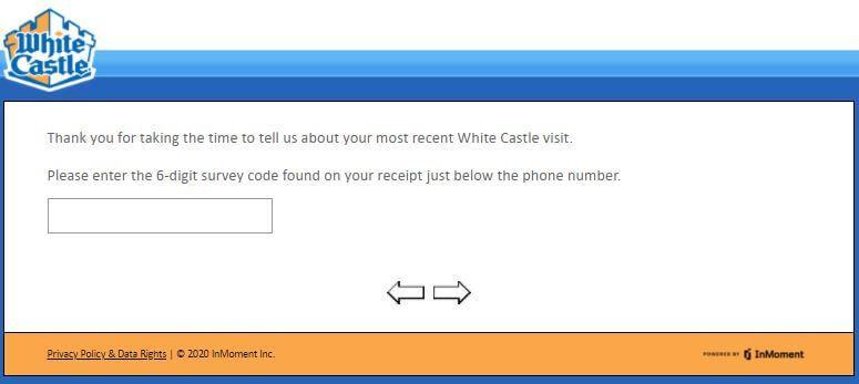 whitecastle.com/survey