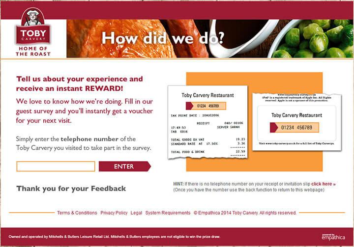 www.tobycarvery-survey.co.uk